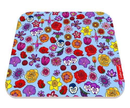 Selina-Jayne English Flowers Limited Edition Designer Mouse Mat